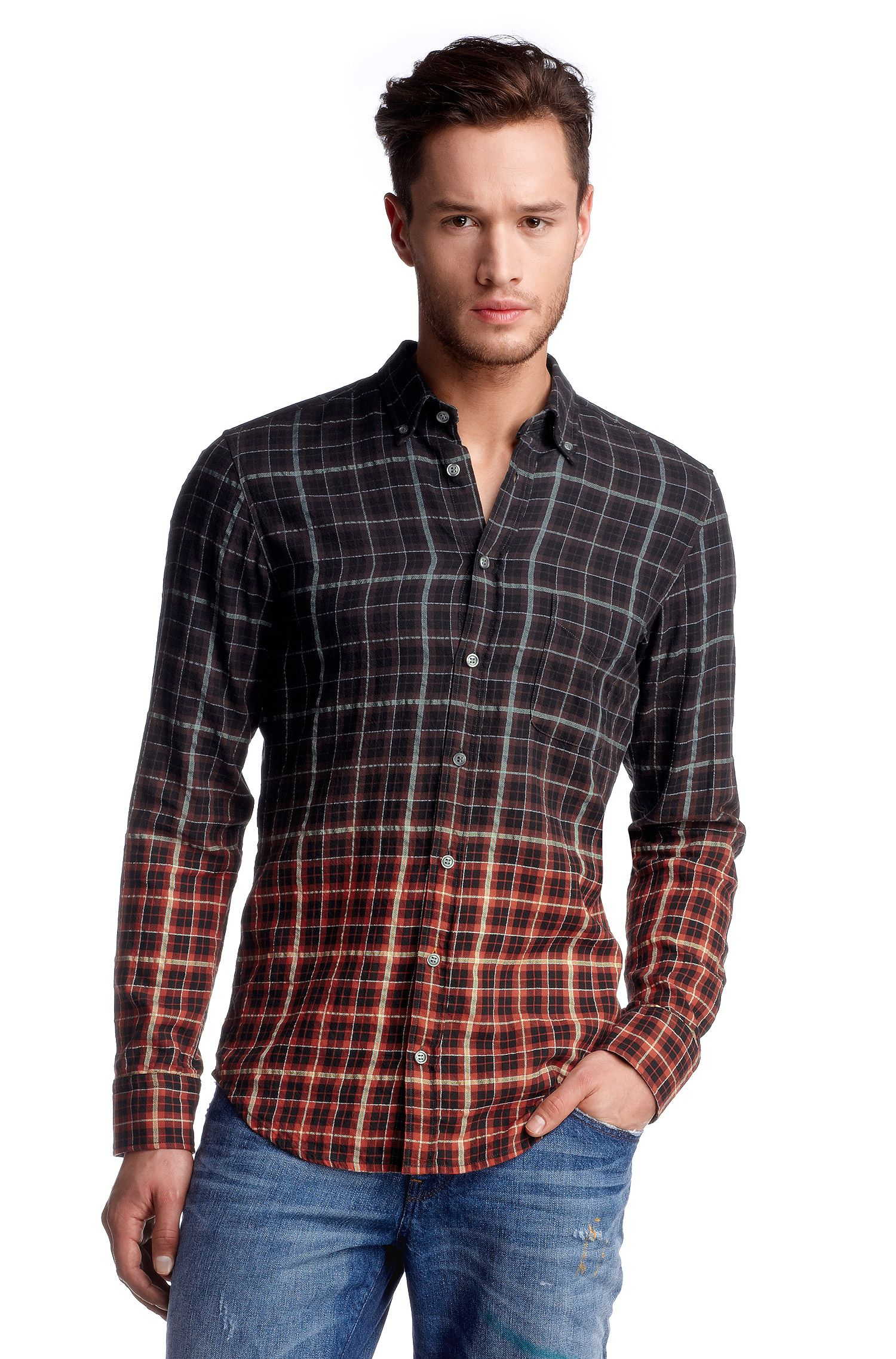 Freizeit-Hemd ´EquatorE` mit Karo-Dessin