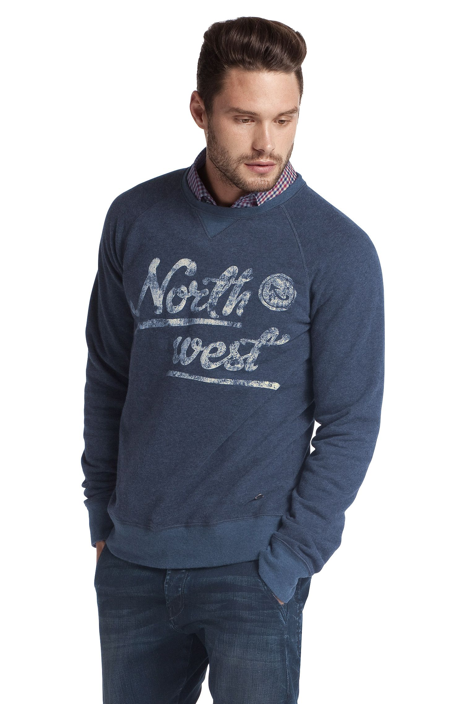 Sweatshirt ´Wic` mit Brustprint