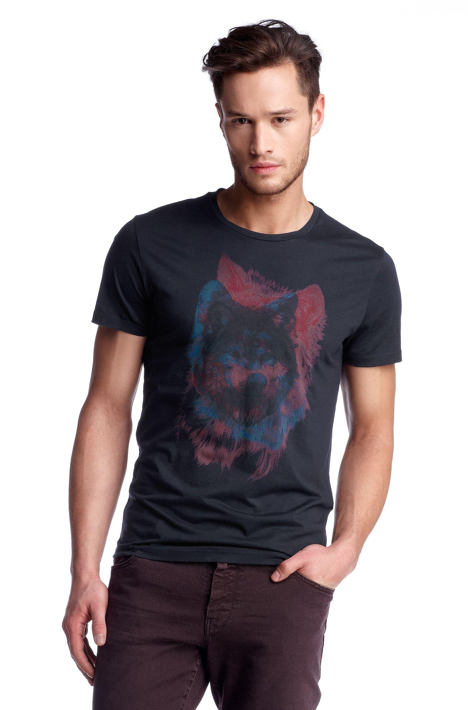 T-Shirt ´Truffle 1` mit Brustprint