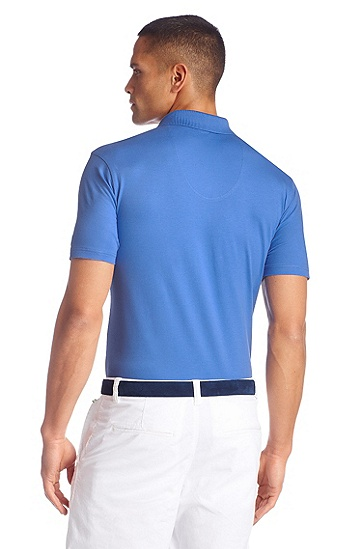 Regular-Fit Piqué-Poloshirt ´Patrick US`, Hellblau