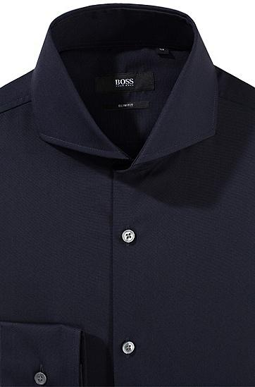Business-Hemd ´Dwayne` mit Haifischkragen, Dunkelblau