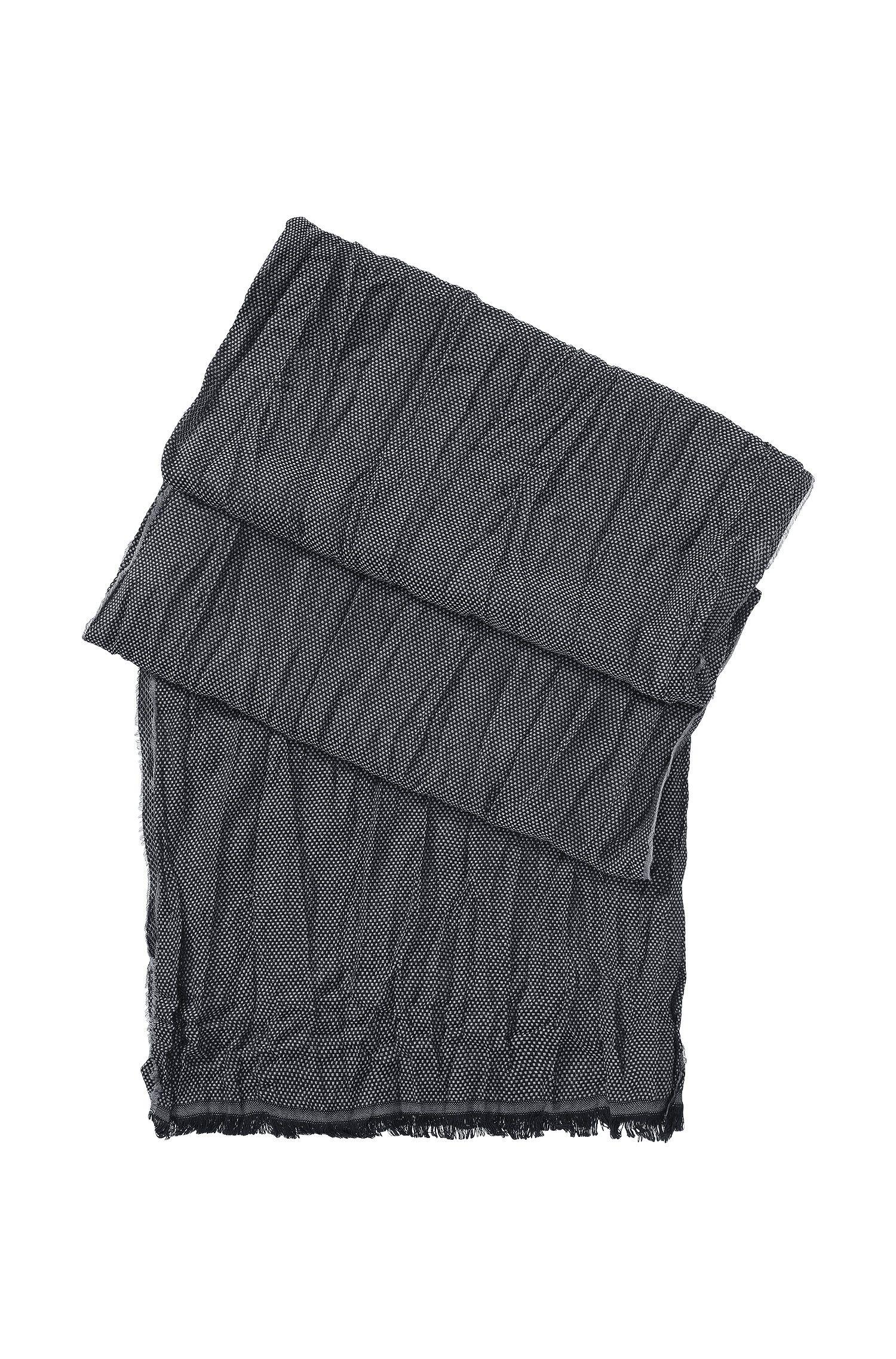 Sjaal ´Scarf cm 180 x 40` met wol en viscose