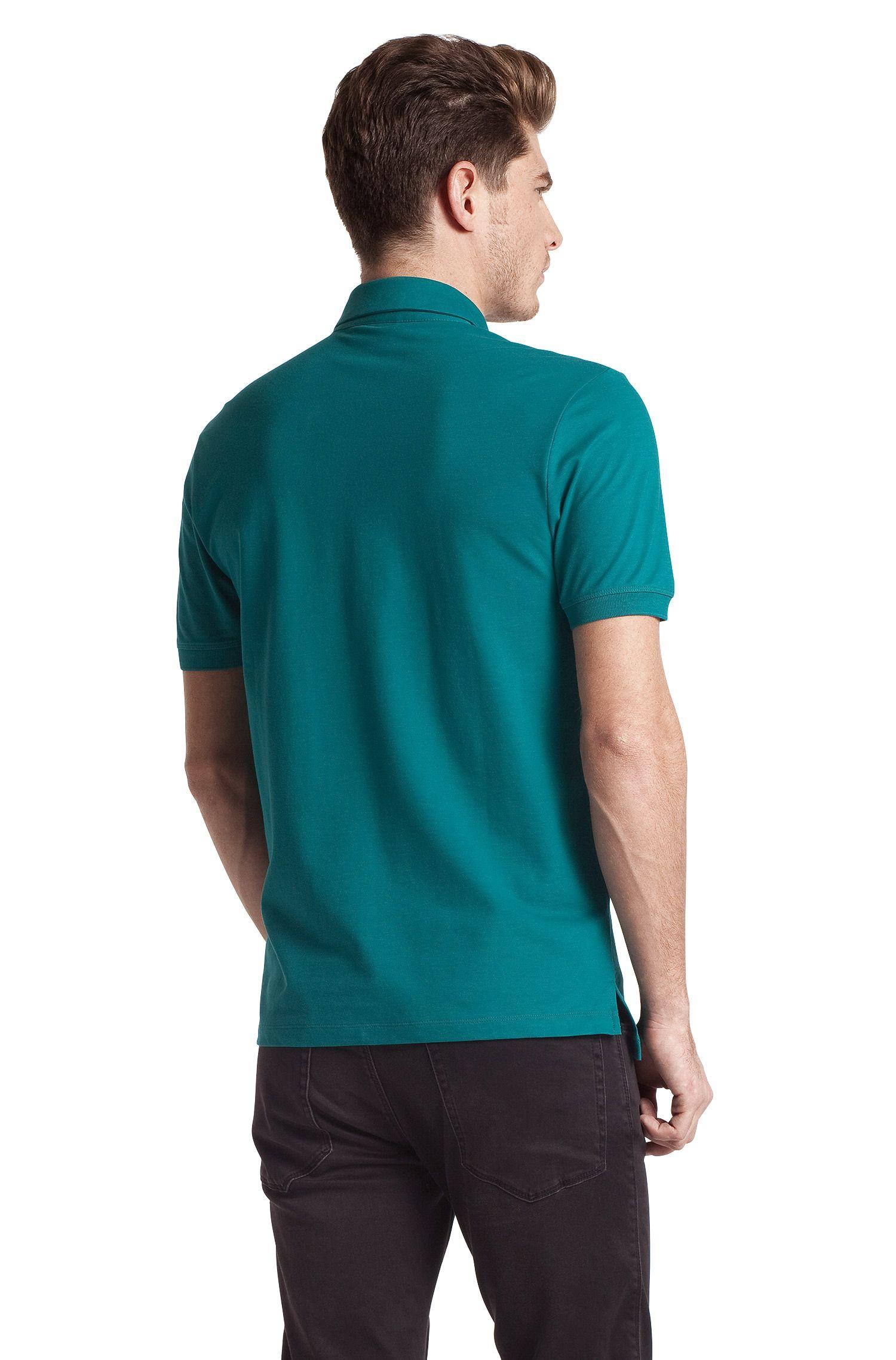 Poloshirt ´Dolon` met liggende kraag
