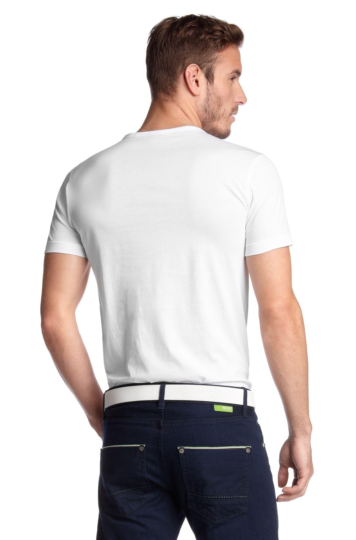 T-shirt en pur coton, Tee Box
