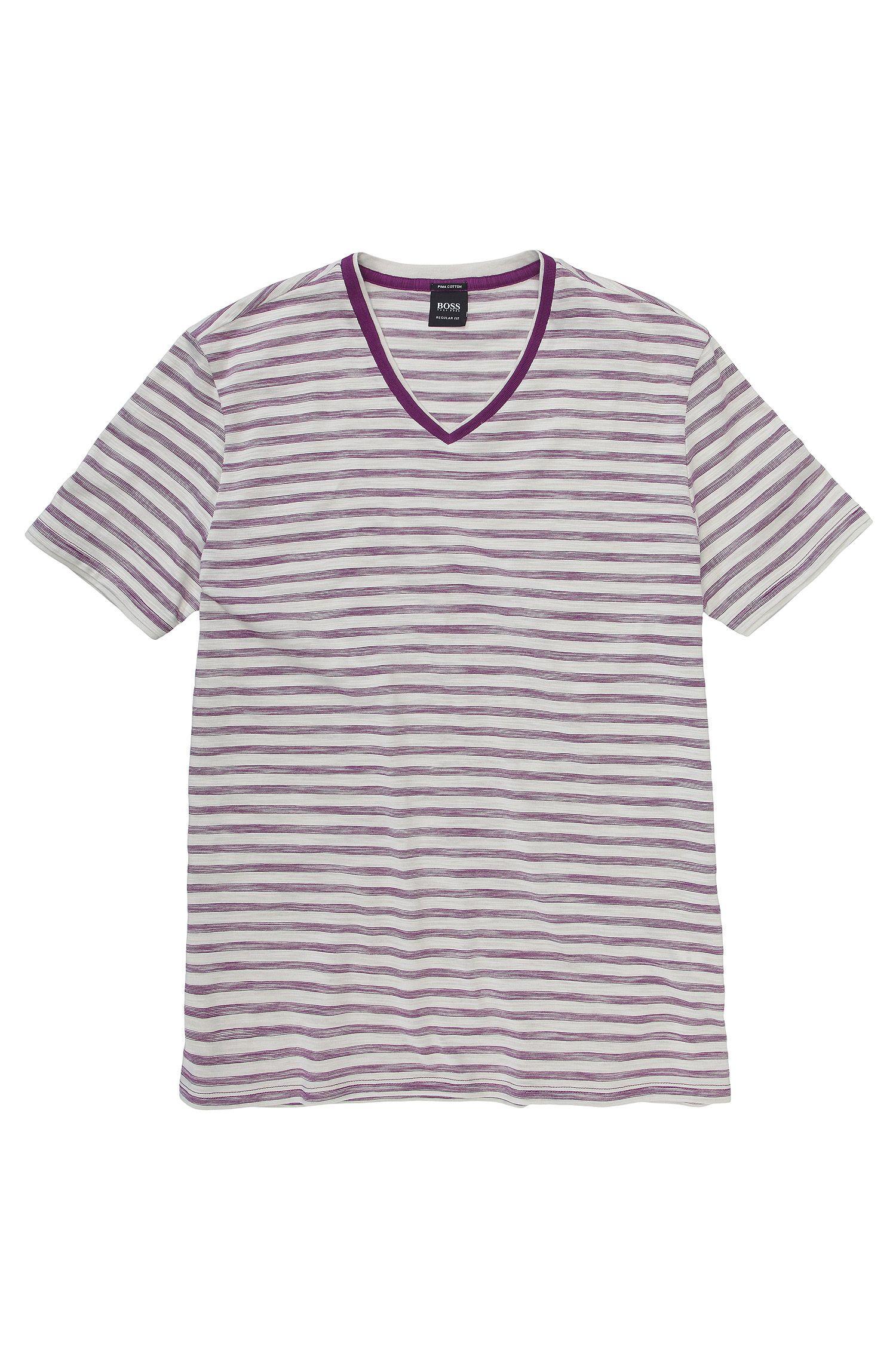 T-shirt en pur coton Pima, Eraldo 49