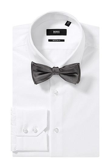 Fliege ´Bow tie fashion`, Hellgrau