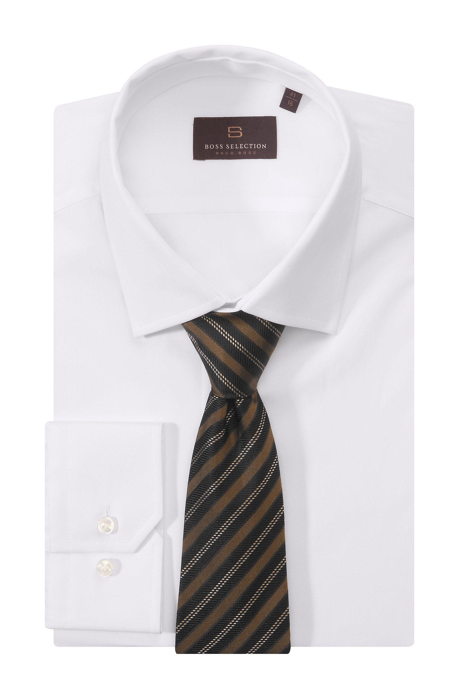 Krawatte »TIE CM 8« aus reiner Seide