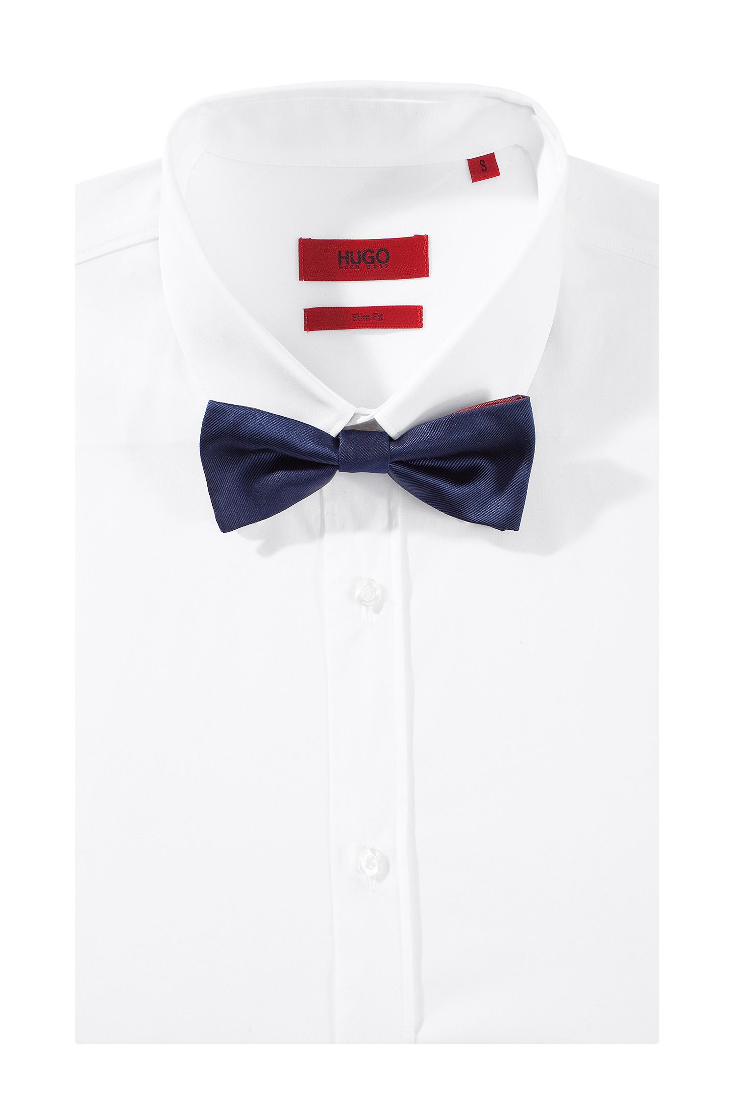 Fliege ´Double Bow Tie` aus Seide