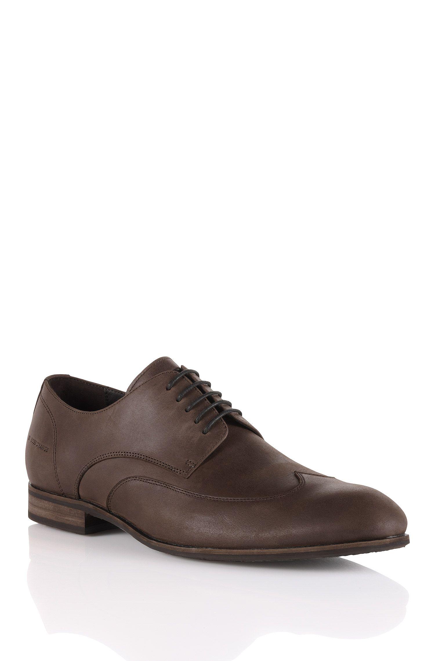 Chaussures à lacets en cuir poli, Berlor