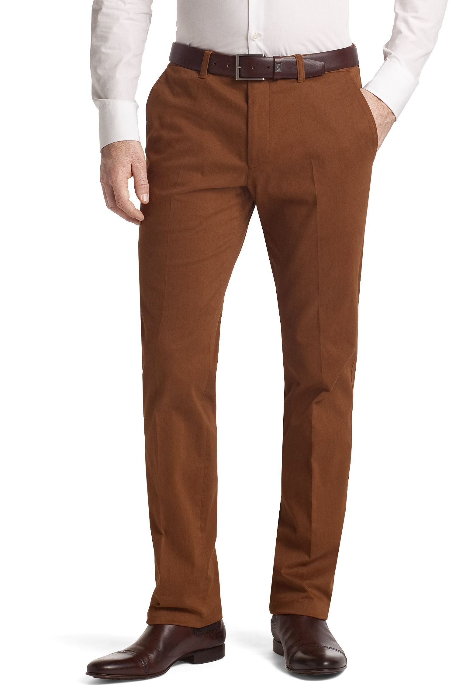 Pantalon de costume coton stretch, Shadow6-W