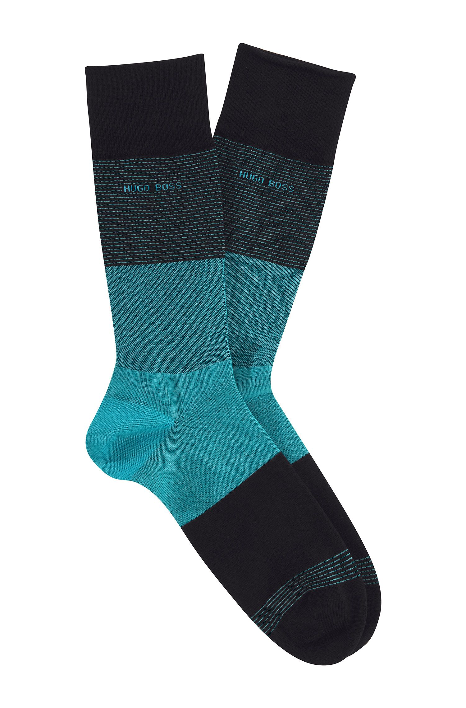 Chaussettes à larges rayures, RS Design