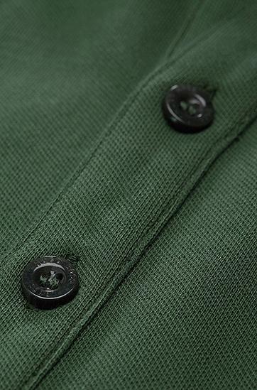Polo ´Forli 05 Modern Essential` aus Piqué, Hellgrün