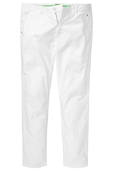 Freizeit-Hose ´Lillon 7-D` aus Gabardine, Weiß