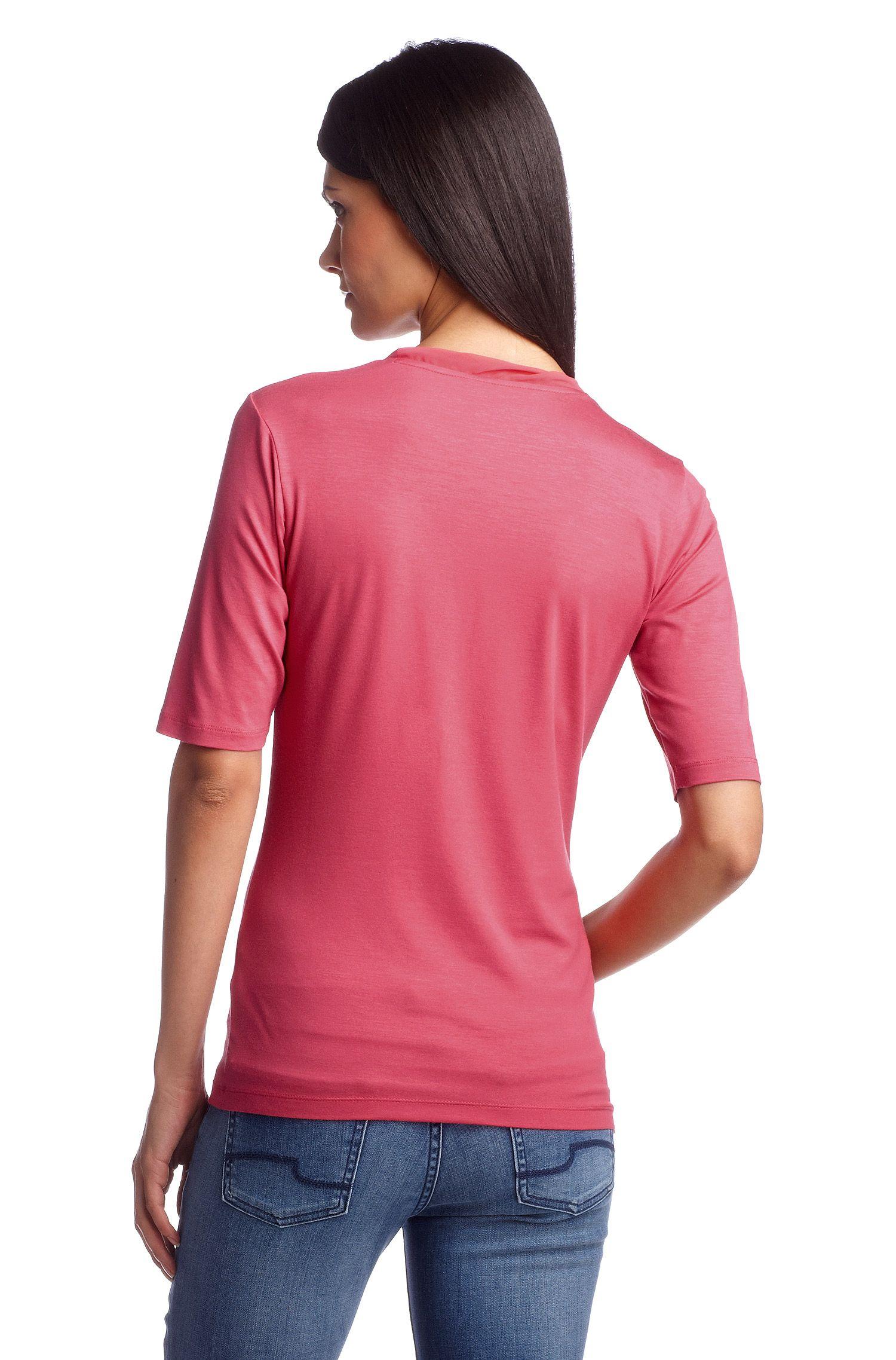 T-shirt ´E4637` met halflange mouwen