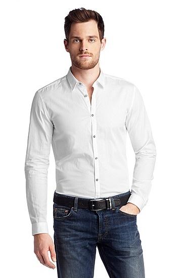 Freizeit-Hemd ´Remus Modern Essentials`, Weiß
