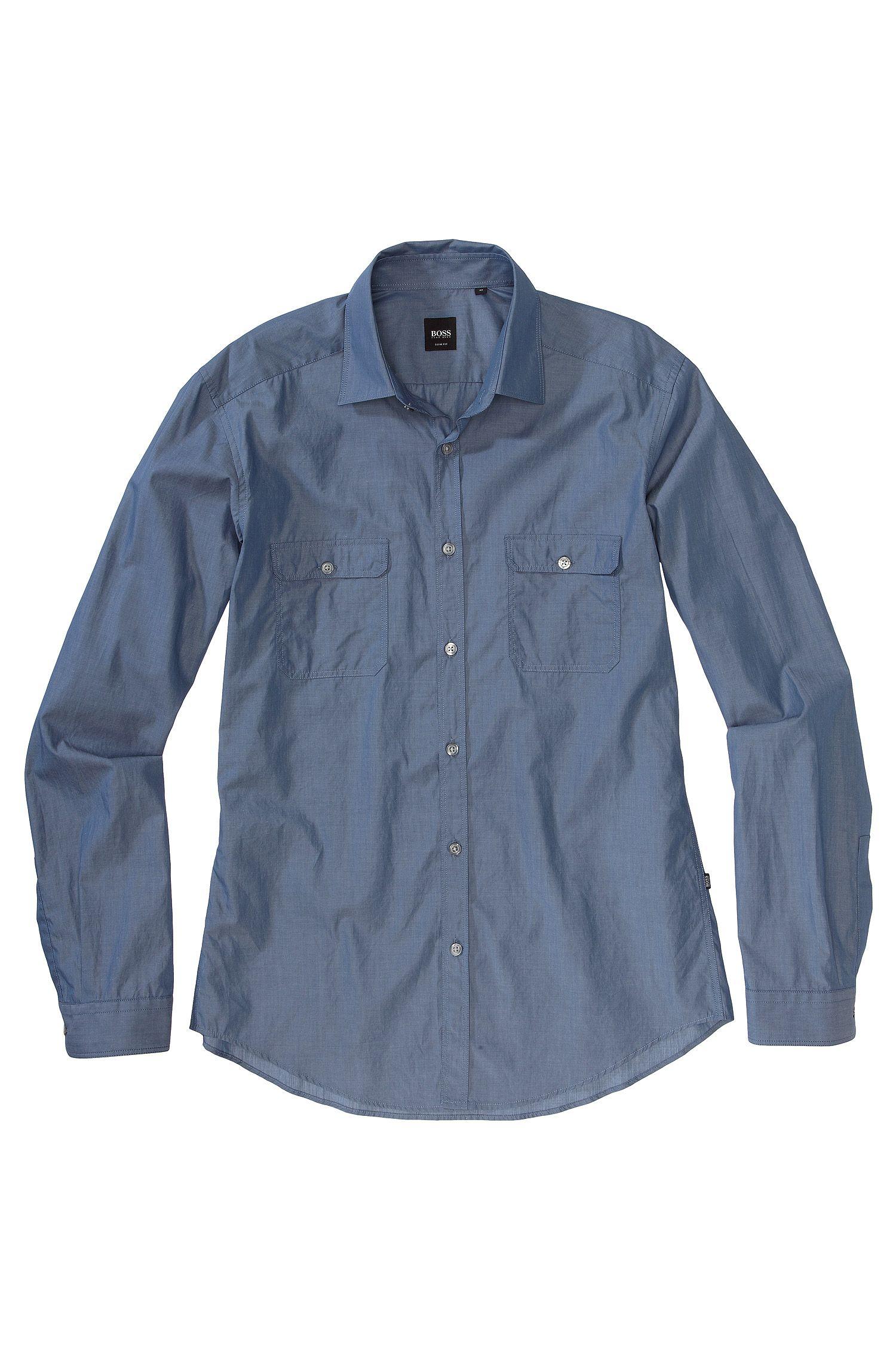 Chemise détente à deux poches à rabat, Li