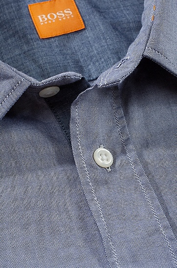 Slim-Fit Freizeit-Hemd ´CliffE`, Dunkelblau