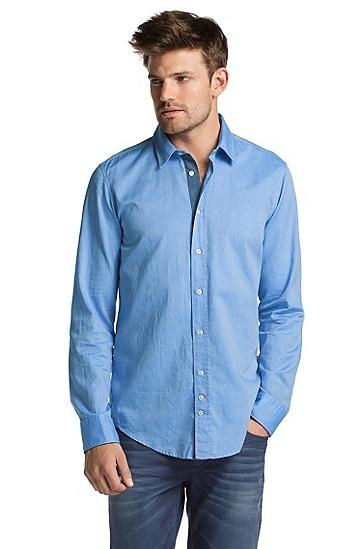 Slim-Fit Freizeit-Hemd ´CliffE`, Hellblau