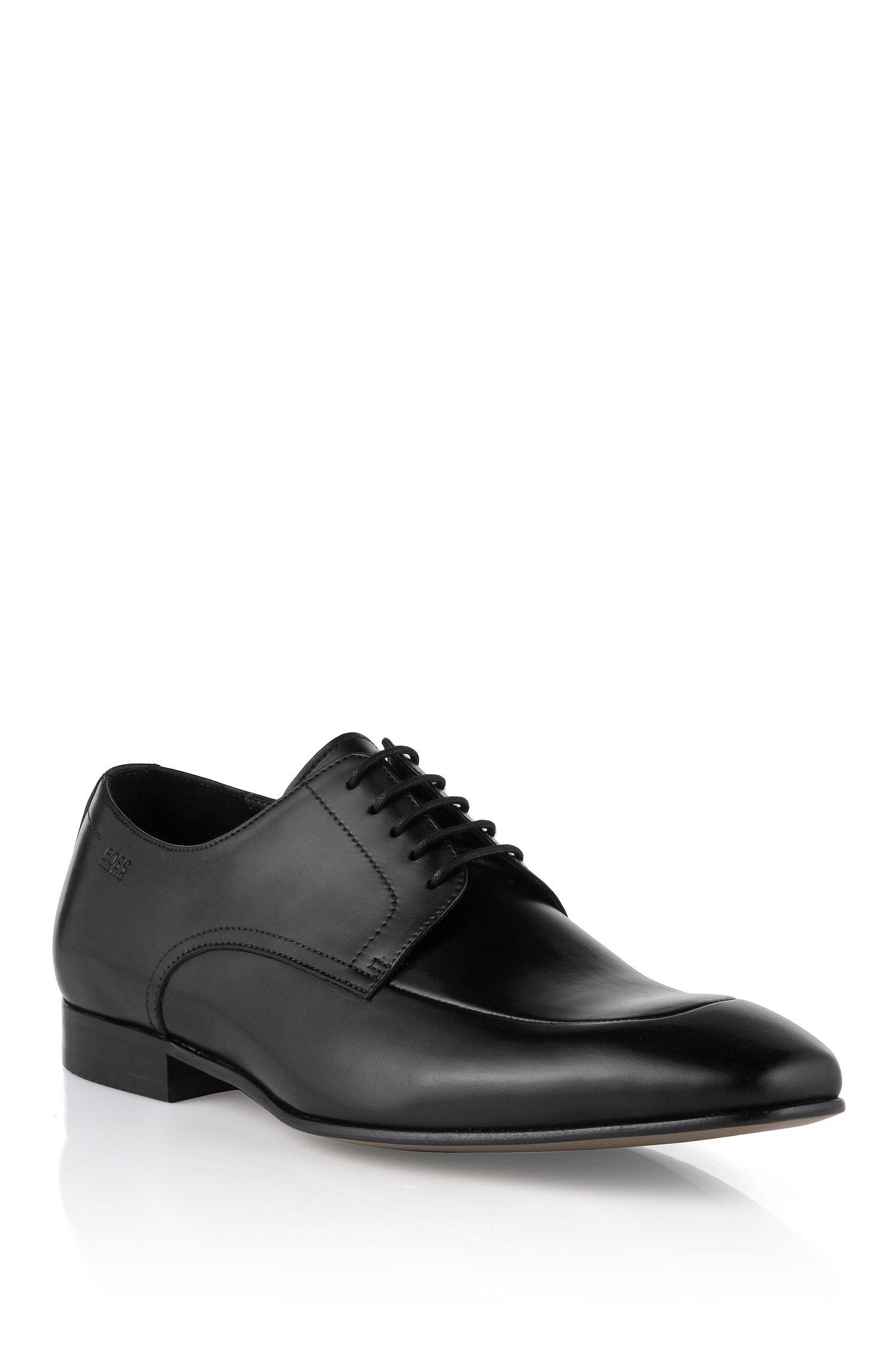 Chaussures à lacets en cuir de vachette, Metris
