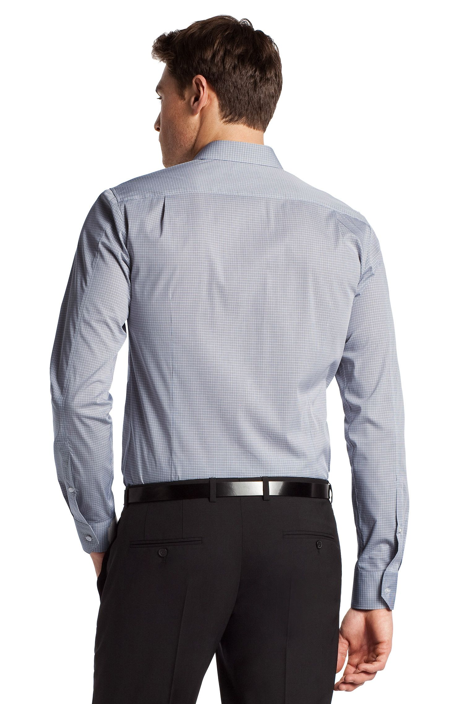 Businessoverhemd met slim fit 'Elisha'