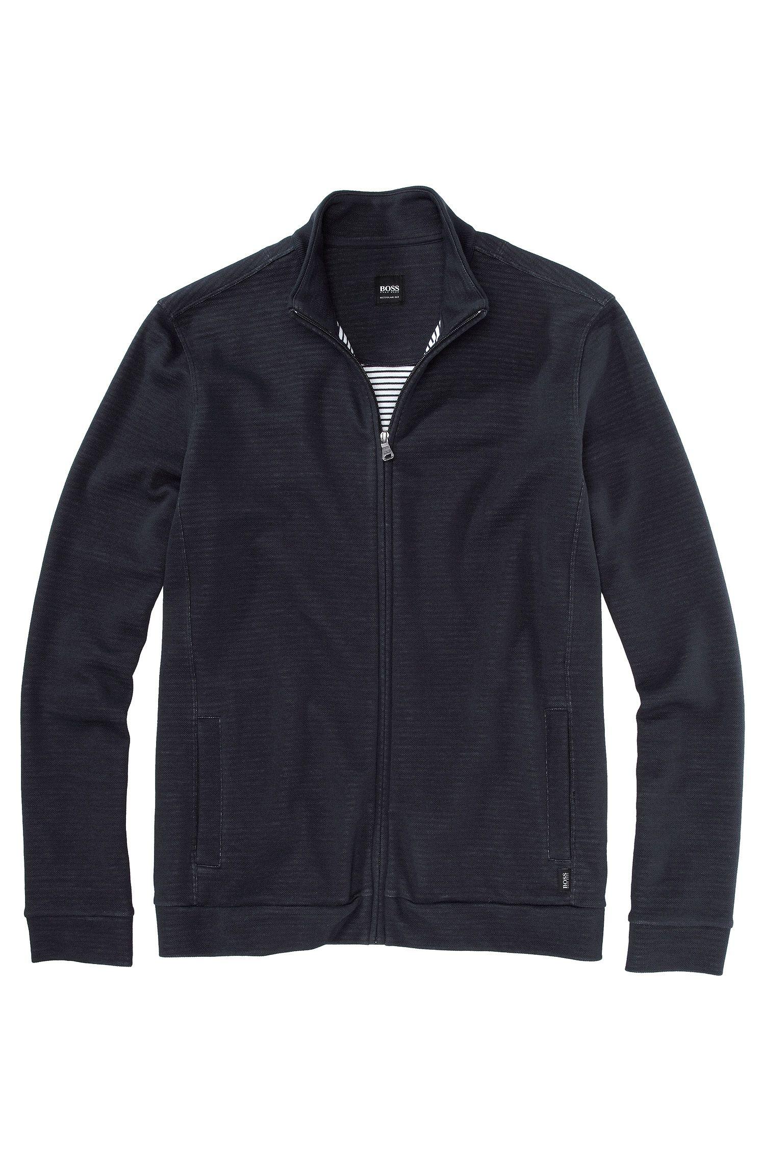 Sweatshirt-Jacke ´Cannobio 42` aus Baumwoll-Mix