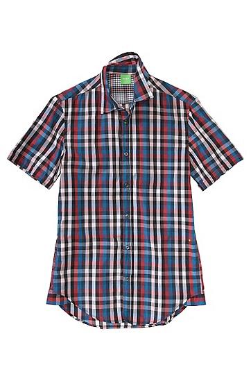 Freizeit-Hemd ´Bastiano` mit Kentkragen, Rot