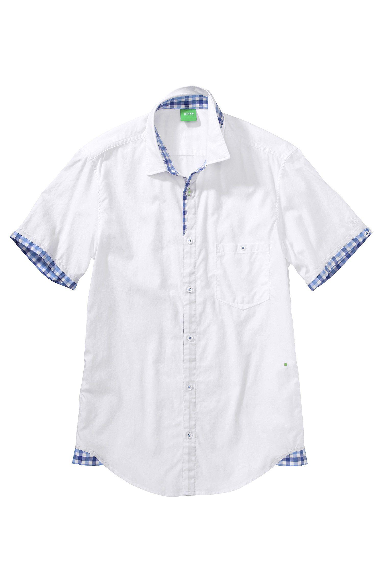 Freizeit-Hemd ´Blob` mit Kentkragen