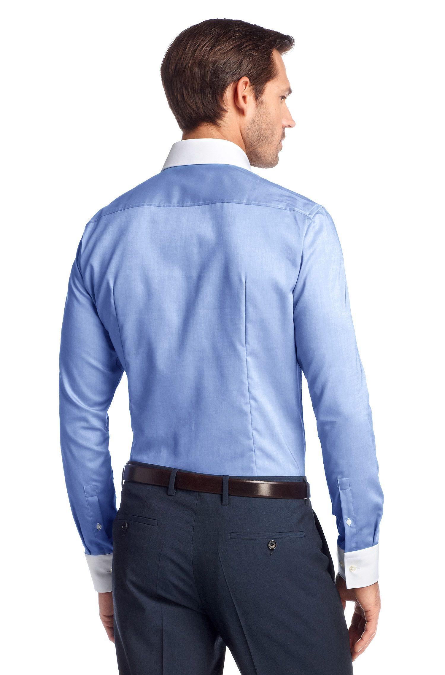 Business-Hemd ´Johan` mit Kontrastkragen