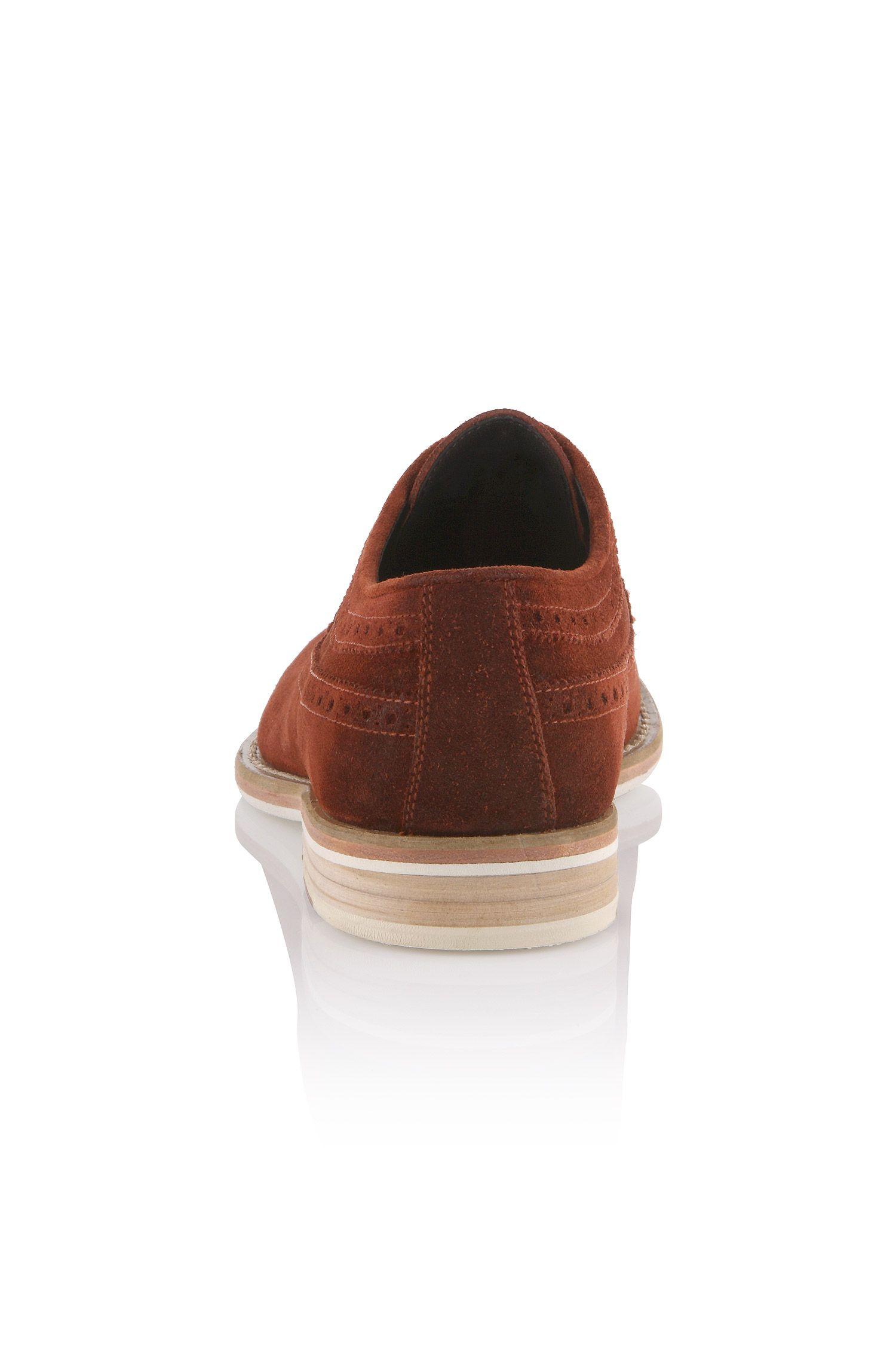 Schnürschuh ´Ofero` aus Veloursleder