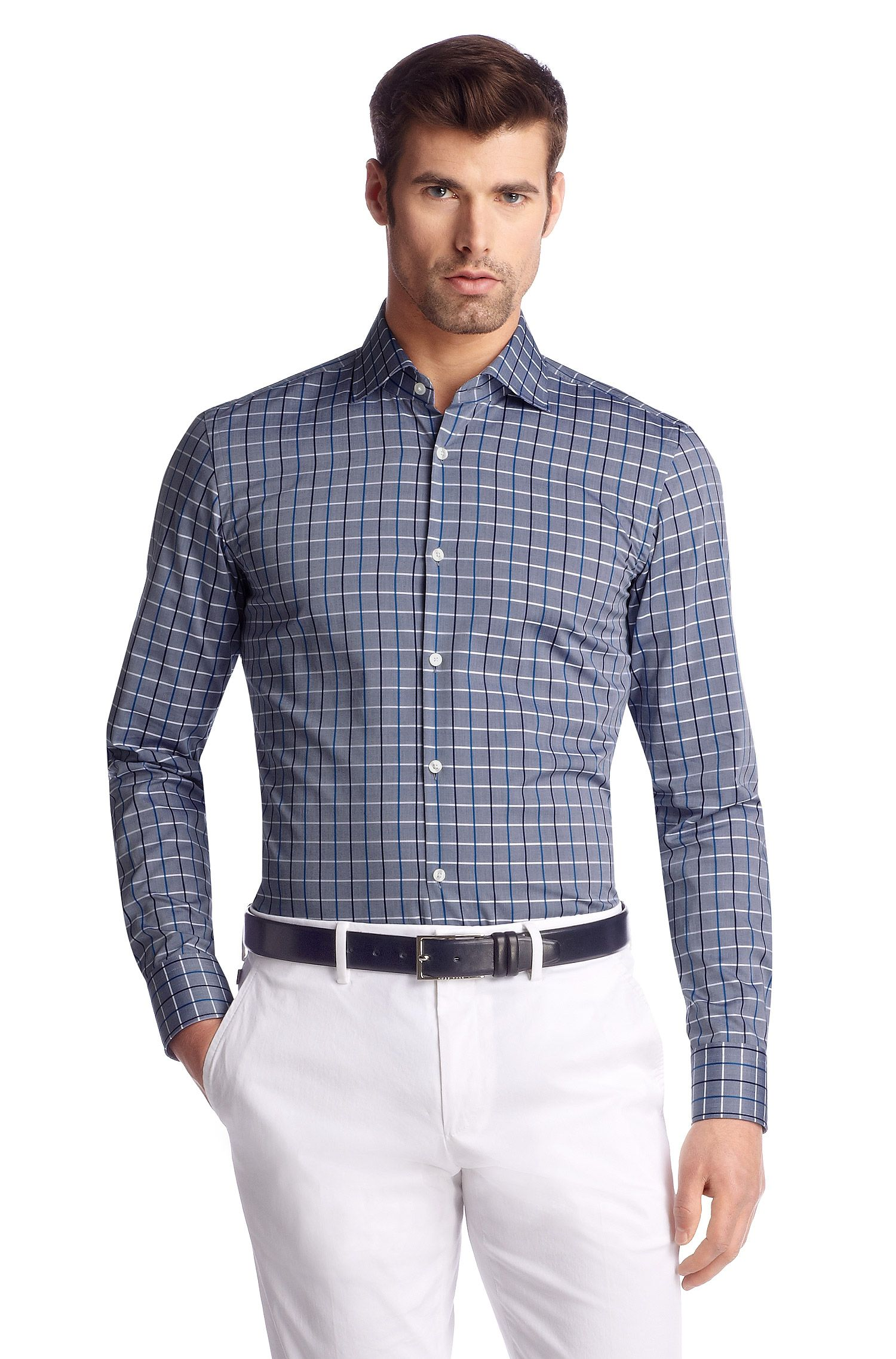 Chemise business Regular Fit en coton, Jaron