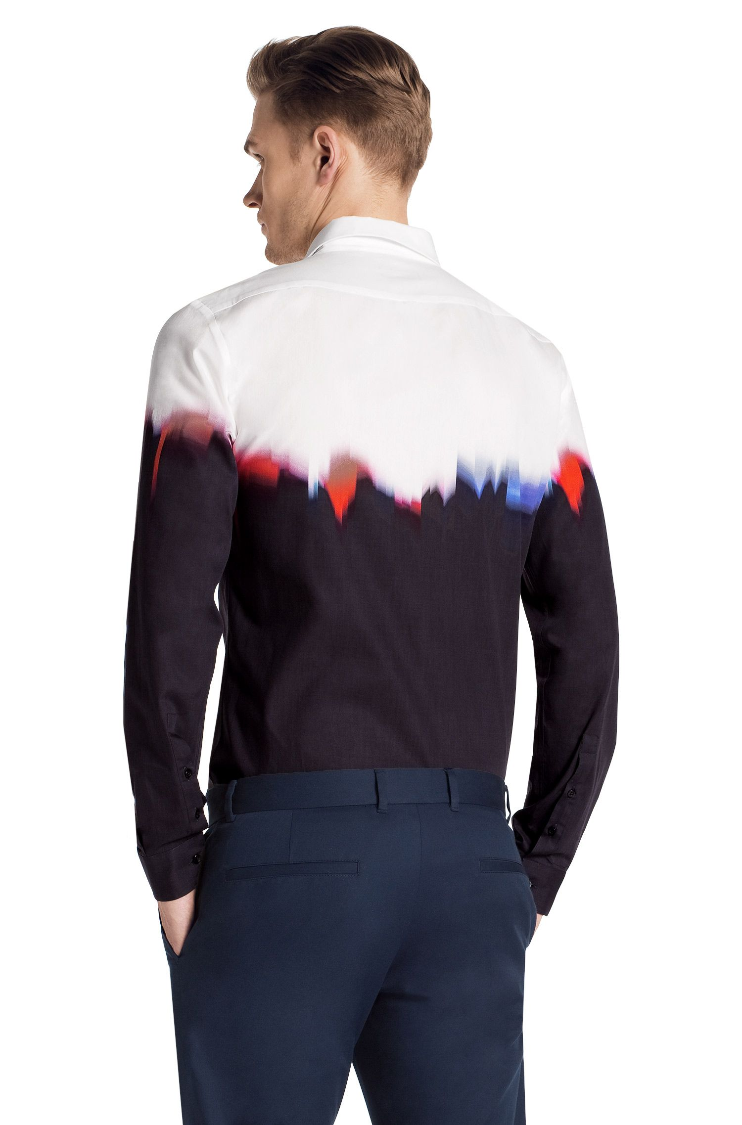 Slim-Fit Freizeit-Hemd ´Ero` mit Kentkragen