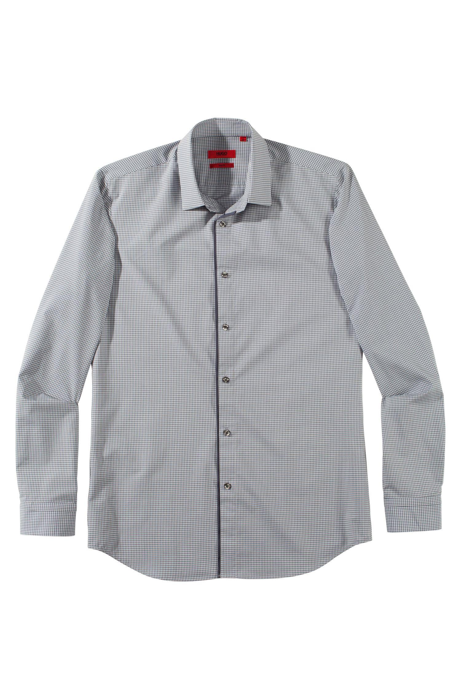 Chemise détente Slim Fit à col Kent, Etti1