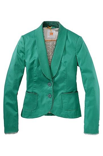 Jacket ´Osonni-W` mit Schalkragen, Grün
