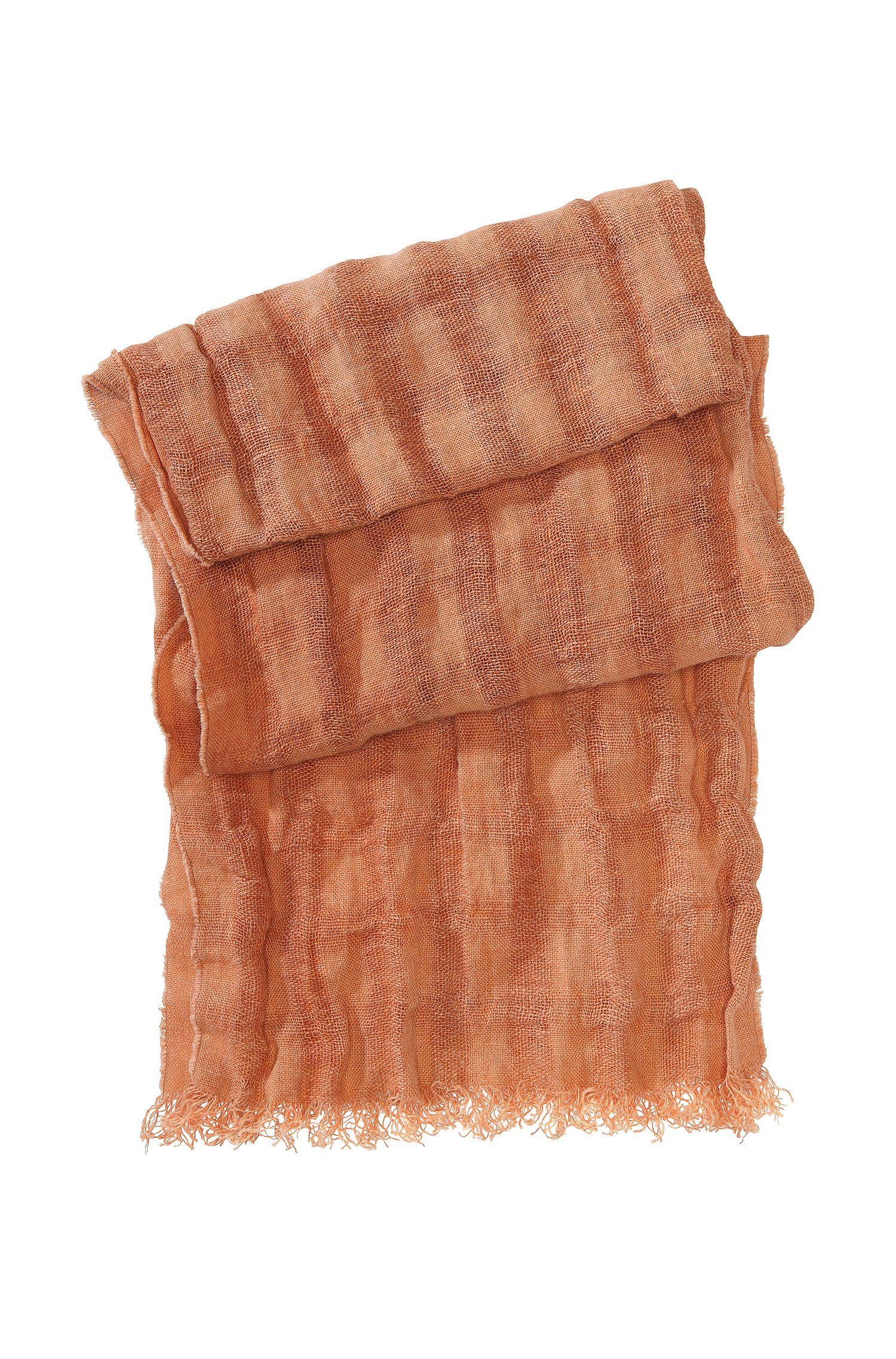 Schal ´Notcar1` aus reinem Leinen