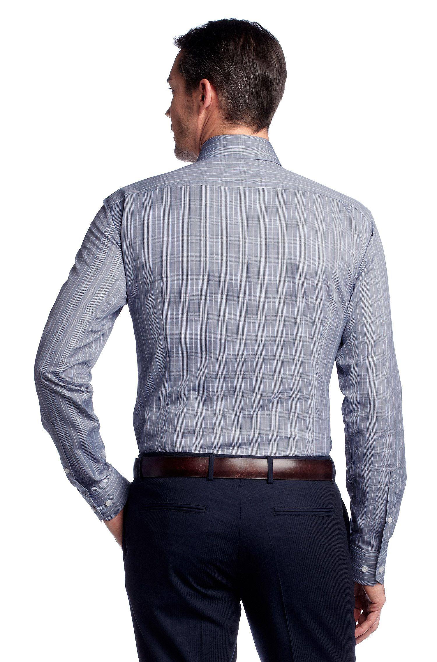 Business-overhemd ´Christo` met ruitdessin