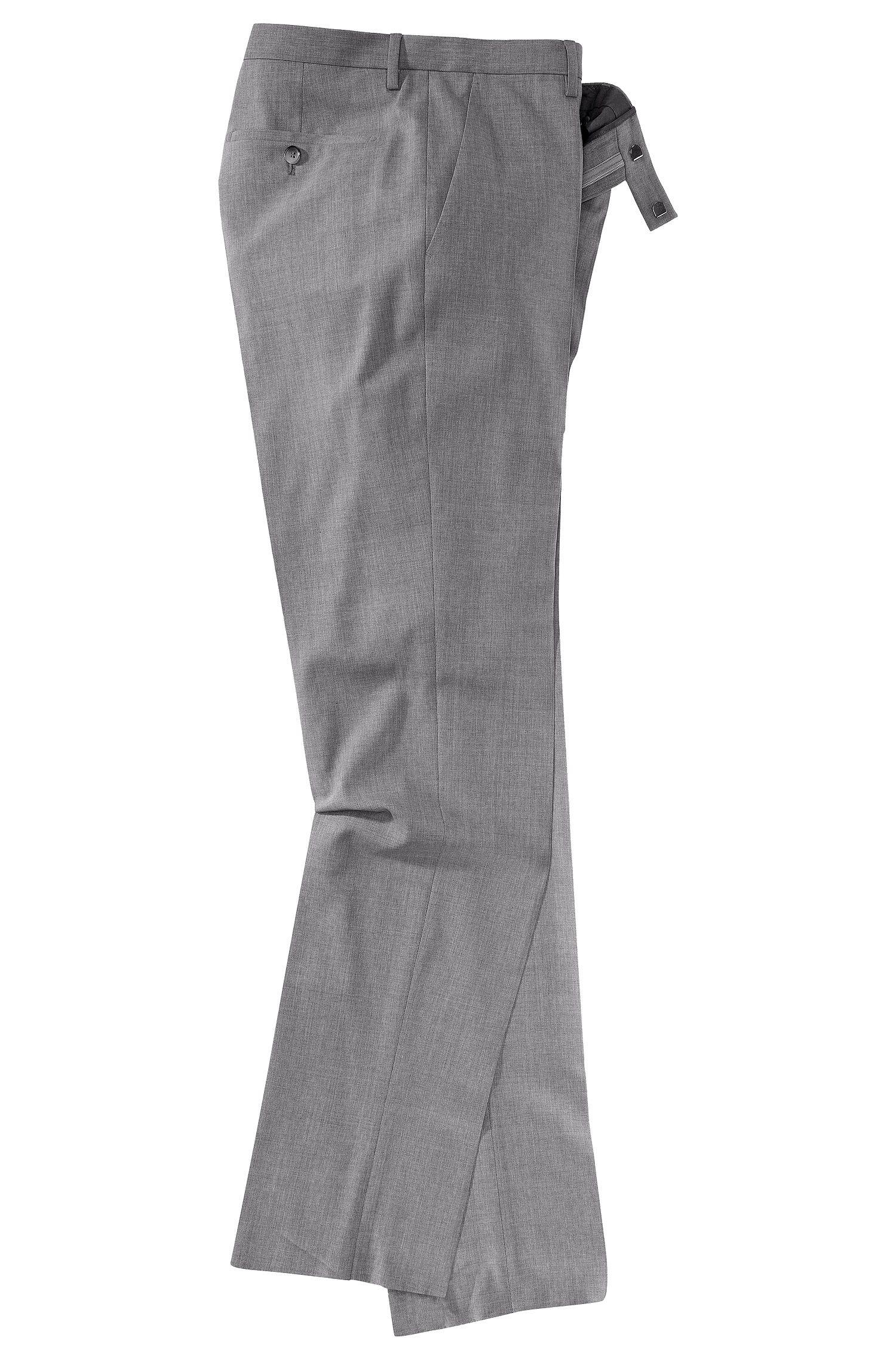 Kostuumbroek ´Court1` van zuivere scheerwol