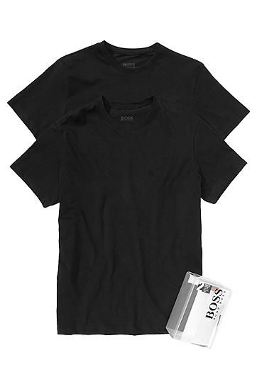 T-shirt in a pack of 2 , Black