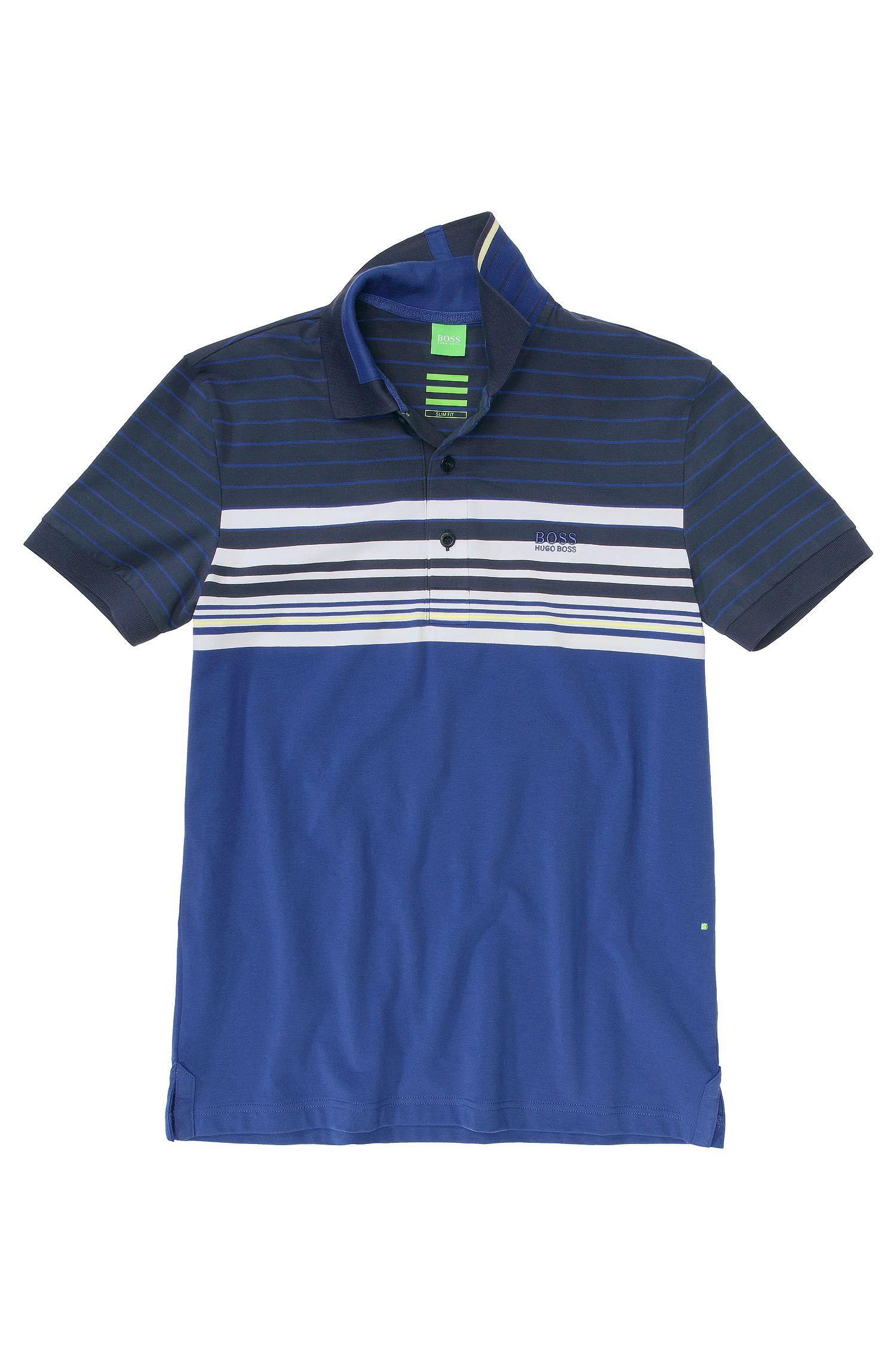 Polo en jersey de coton, Paule 1