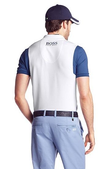 Modern-Fit Piqué-Poloshirt ´Paddy MK`, Weiß