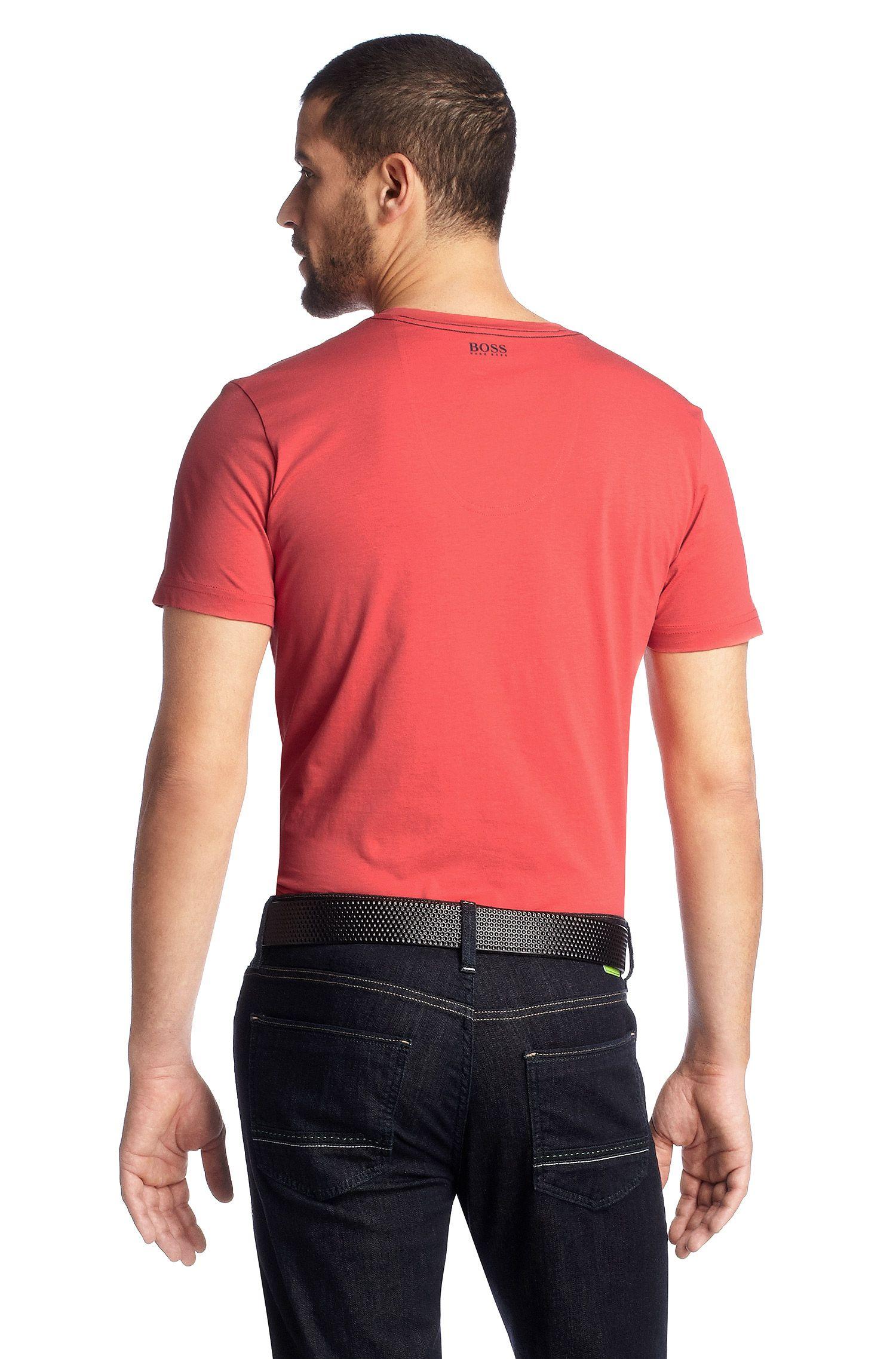 T-shirt ´Teeo` met ronde hals