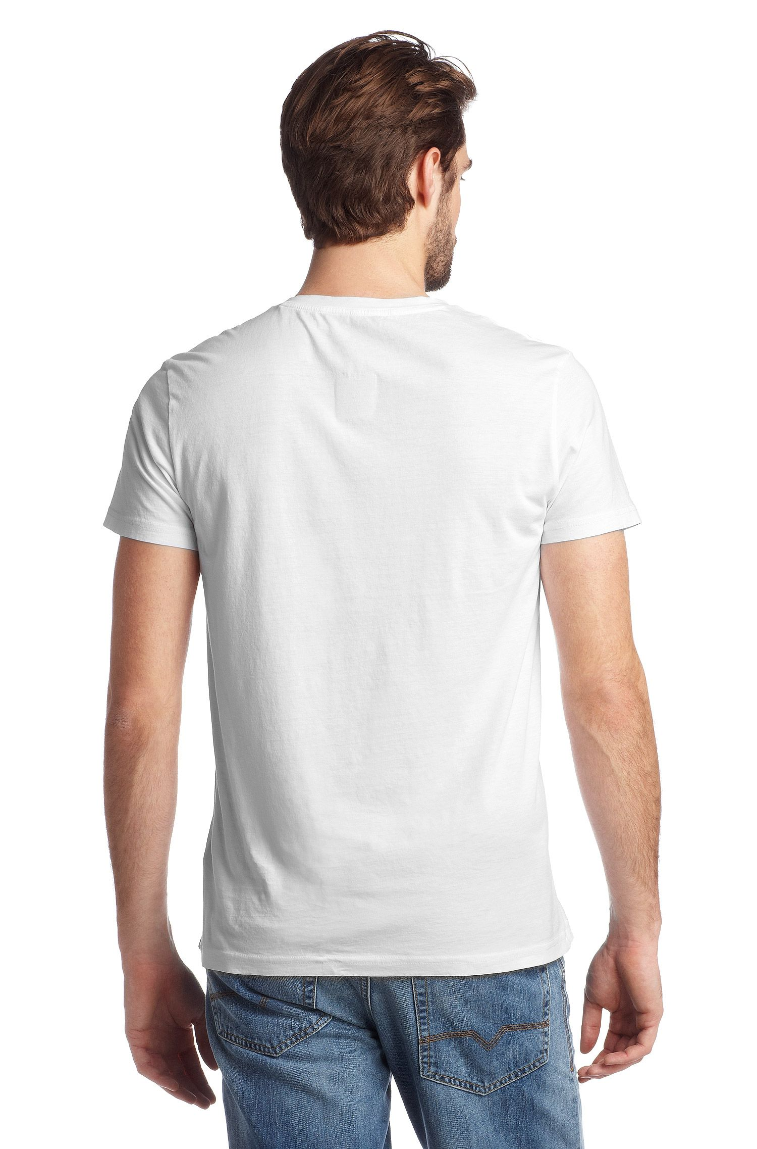T-shirt à encolure en V, Tryon