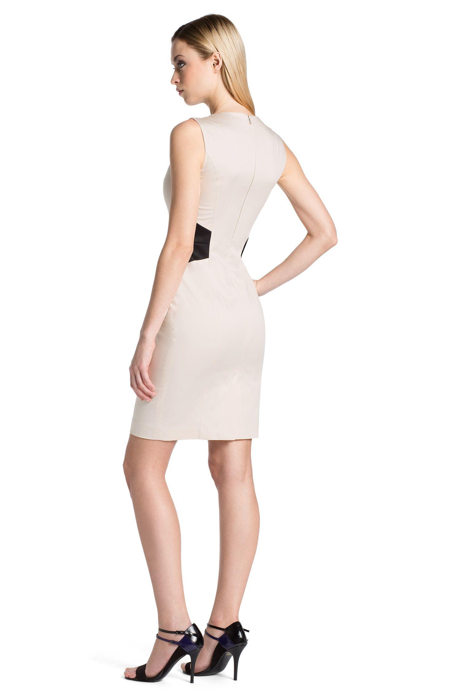 Etui-jurk ´Klanis` van een katoenmix