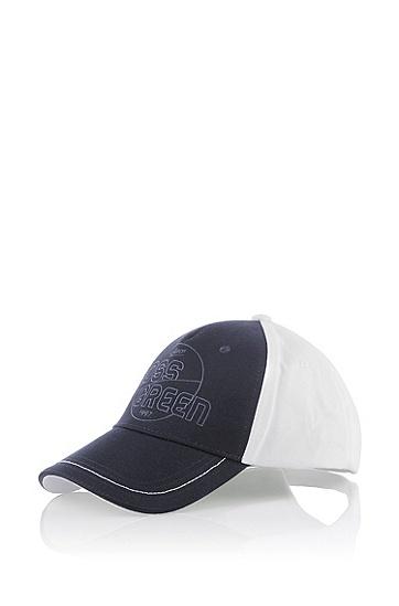 Cap ´Cersey` aus reiner Baumwolle, Weiß
