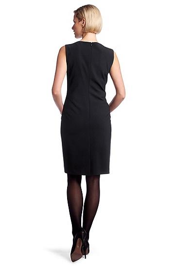 Kleid ´Dallasa7` mit Schurwolle, Dunkelblau