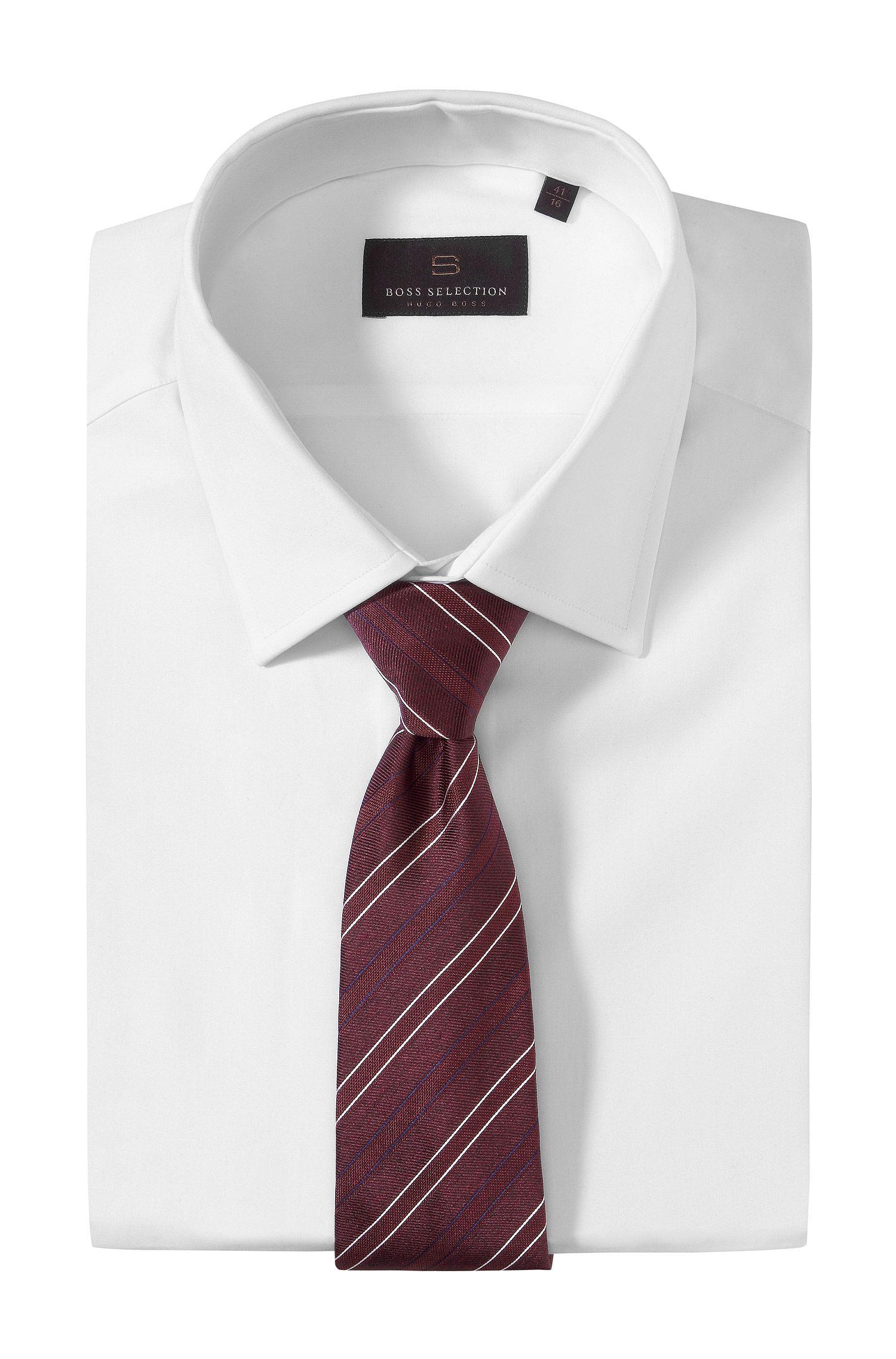 Krawatte ´TIE CM 8` mit Webstreifen-Dessin