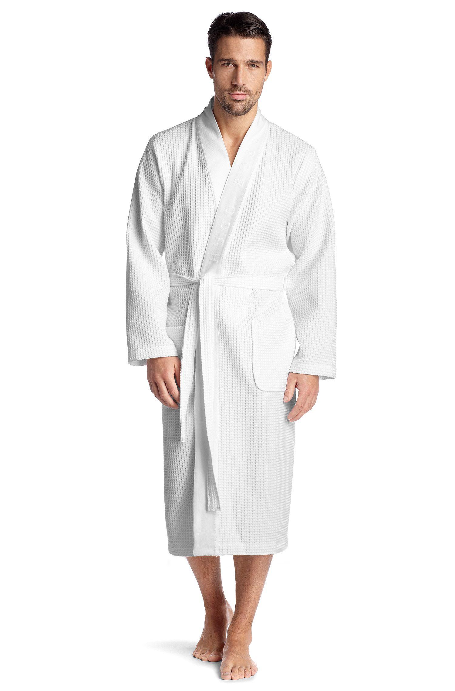 Kimono «KimonoBM» en coton respirant mélangé