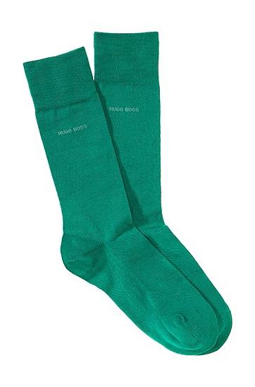 Socken ´Marc Colours` aus Baumwolle-Elasthan-Mix, Grün