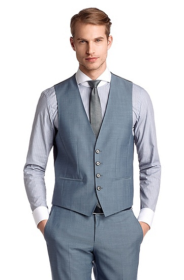 Costume business Slim Fit, Hold1/Genius1 WE, Bleu