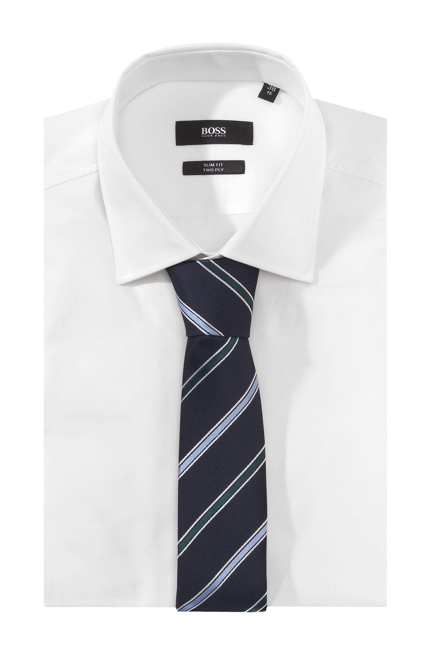 Krawatte ´Tie 6 cm` mit mehrfarbigen Streifen