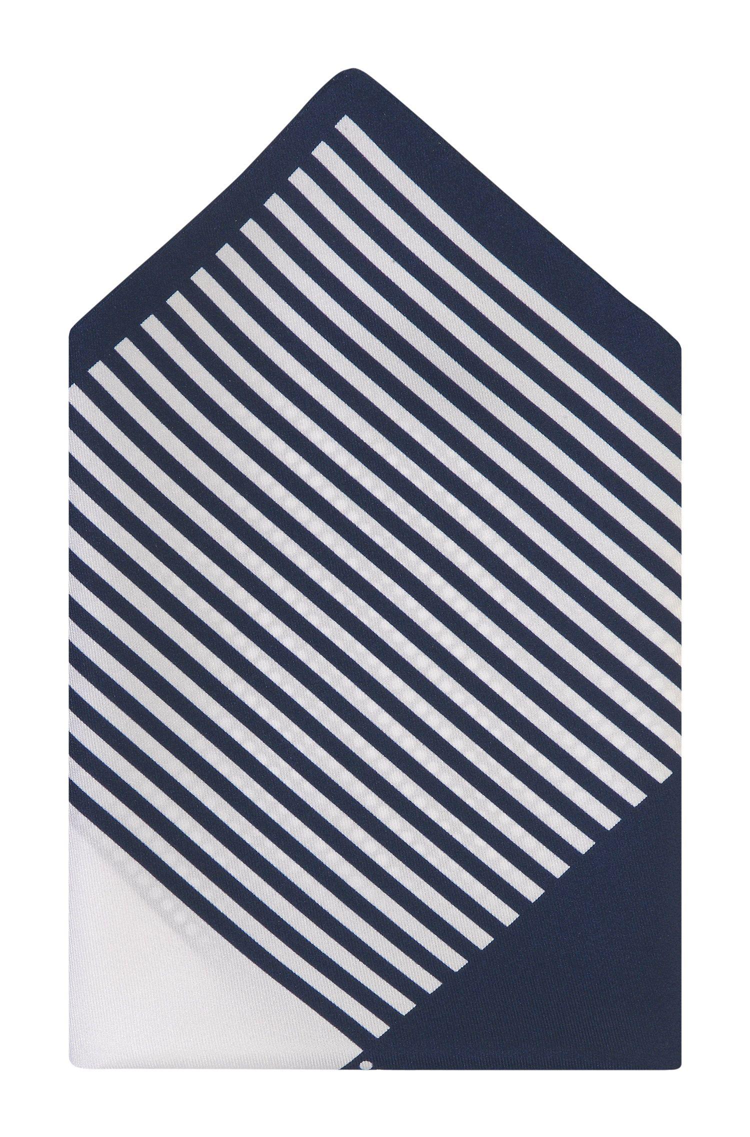 Pochette en soie, Pocket square 33x33